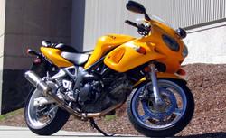 Yellow Suzuki