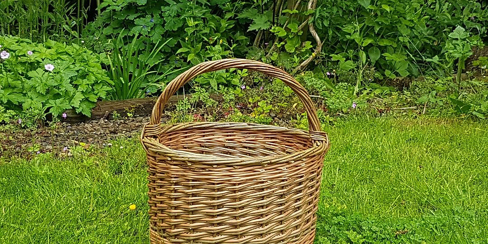 Round basket workshop - fully booked