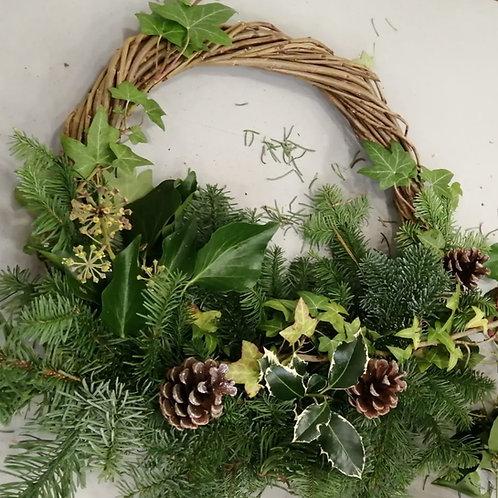 Christmas Wreath (collect at Arthington Village Hall on 5th Dec)