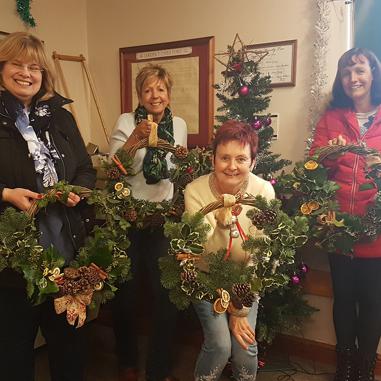 Willow Christmas Wreath Workshop £35