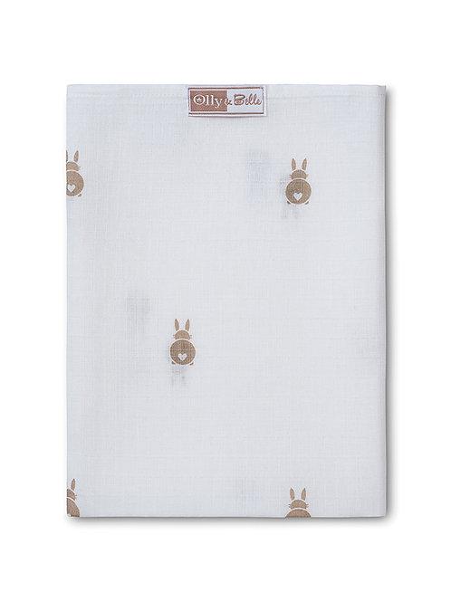 Bunny muslin comforter - Pack of 6