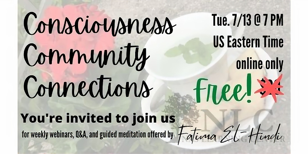 FREE - Triple C: Consciousness Community Connections