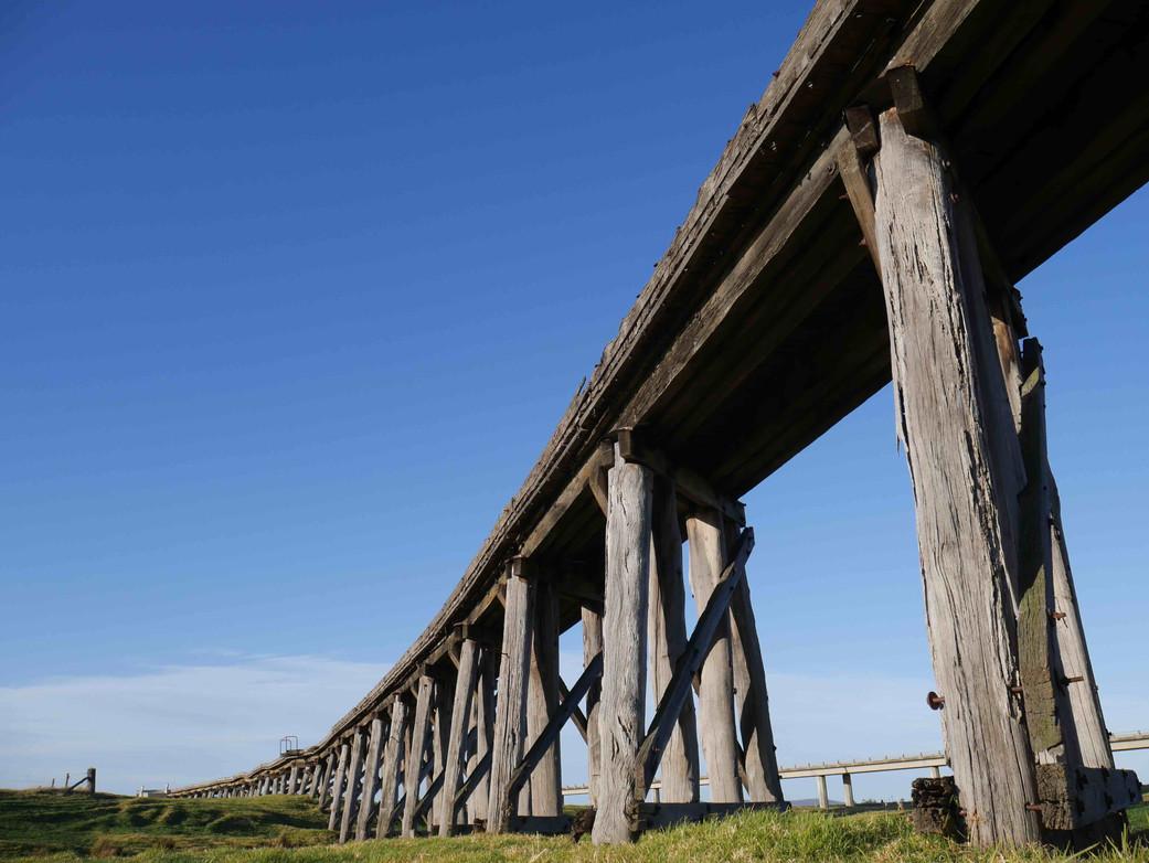 Orbost Rail Trail Trestle Bridge