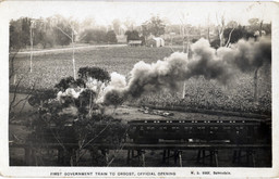 First Government Train to Orbost, Offici