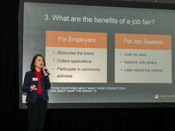 Job Fairs are Not Where You Look for Jobs