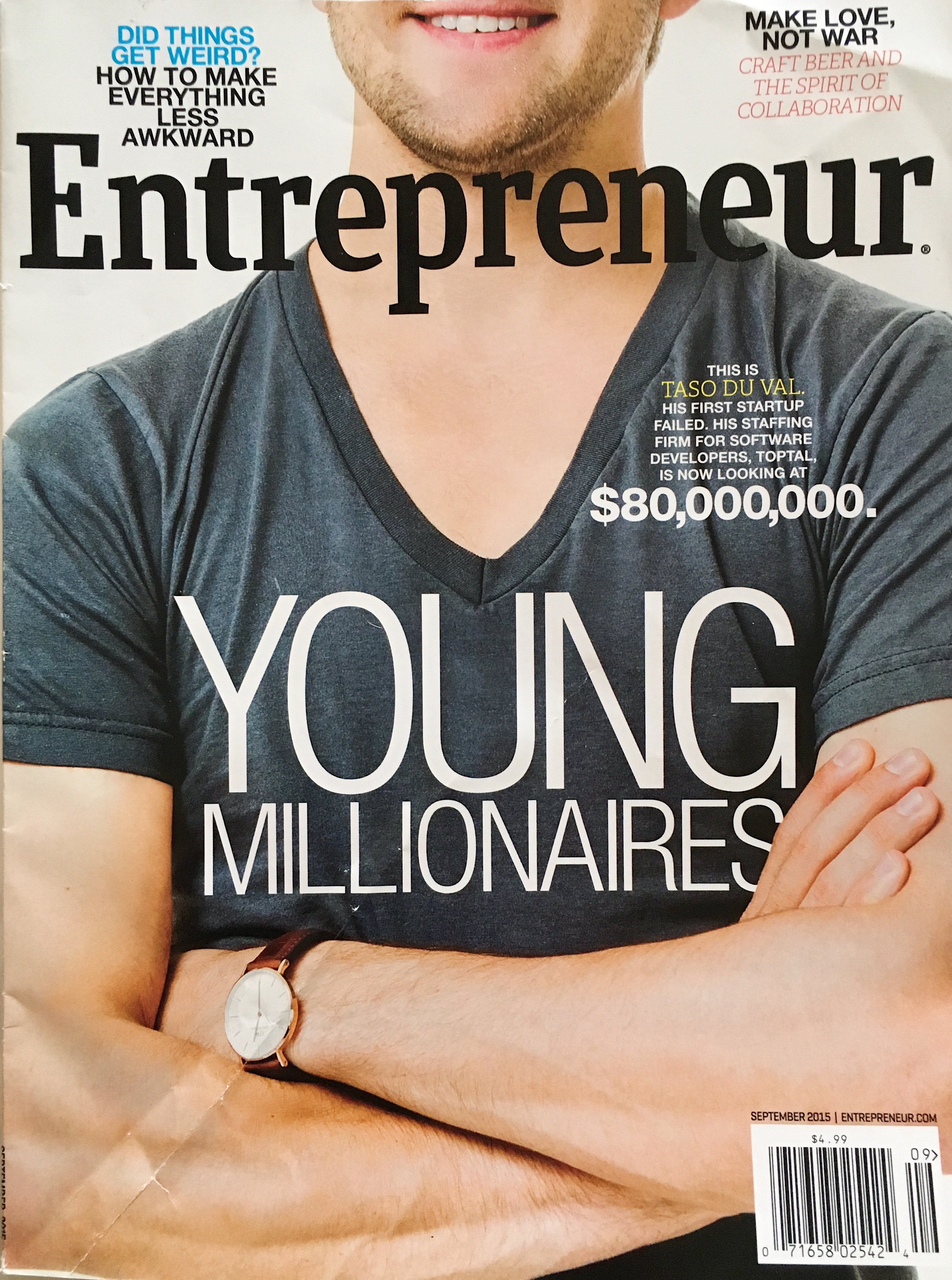 Entrepreneur September 2015