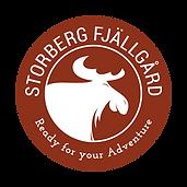 Storberg Fjällgård_Logo_weiß auf ro