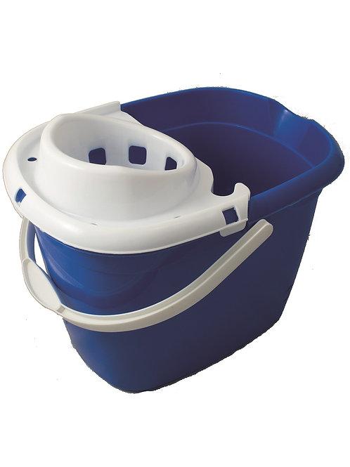 Blue Mop Bucket with Wringer 15L