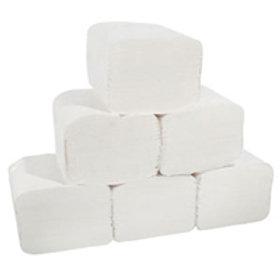 Bulk Pack Toilet Tissue White 2 Ply packsize 9000