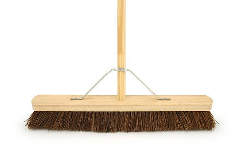 "Broom with Handle 24"" Stiff"