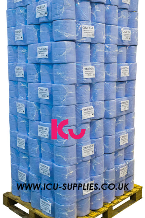 Blue Centrefeed Pallet