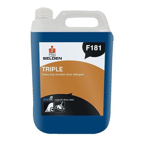 Selden F181 Triple Scrubber Dryer Detergent 5L