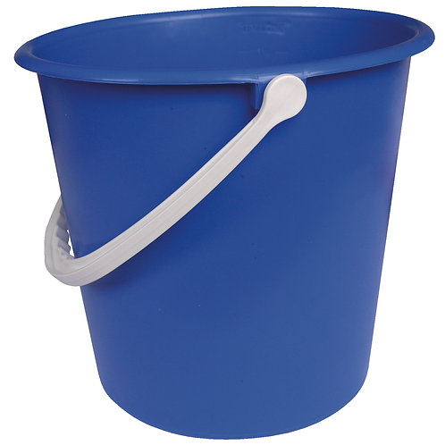 Plastic Bucket Blue 9L
