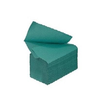 Interleaf Hand Towel 1ply Green Packsize 5000