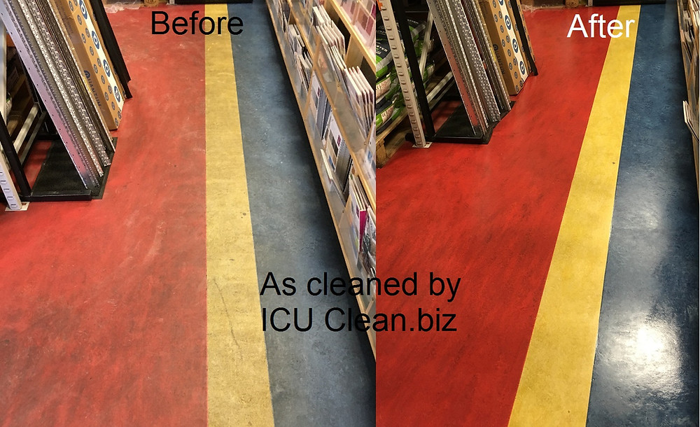 How to strip and polish vinyl floor