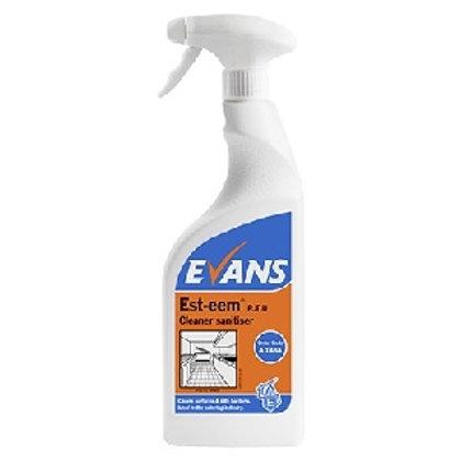 Esteem Kitchen Cleaner Sanitiser 750ml Trigger Spray