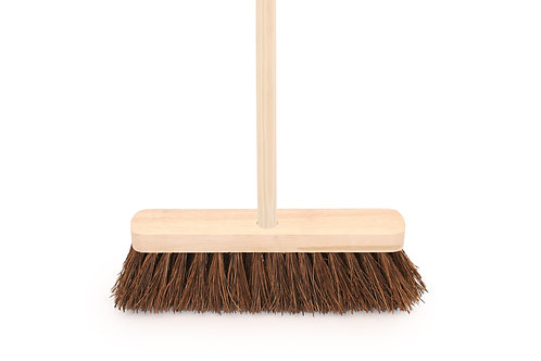 "Broom & Handle 12"" Stiff"