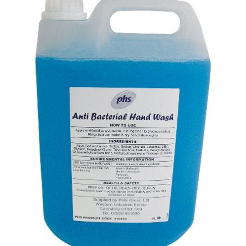 PHS Anti Bacterial Soap 5L