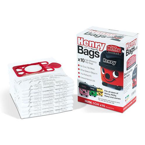Henry Hepaflo Dust Bags X 10 bags