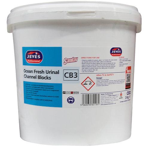 Ocean Urinal Blocks 3kg