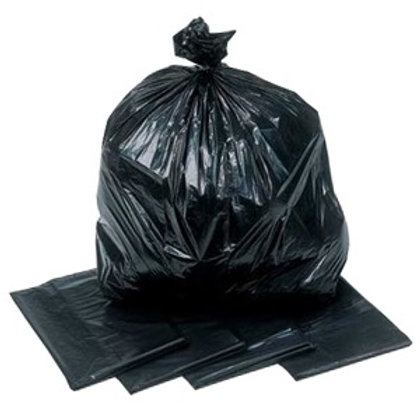 Black Bag Refuse Sack Med Duty
