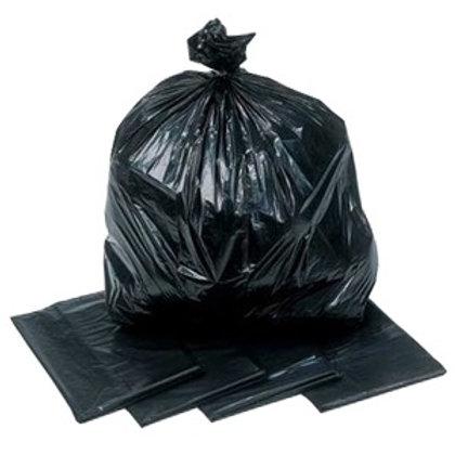 Black Bag Refuse Sack Med Duty