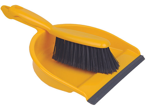 Dustpan & Brush set Yellow