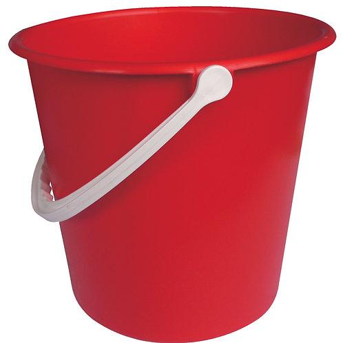 Plastic Bucket Red 9L