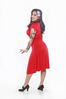 Red Bridget Bombshell Dress