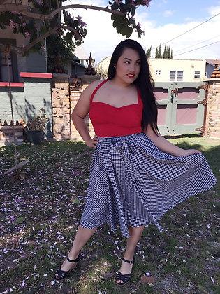 Swingin' Gingham Skirt