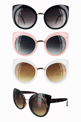 Cateye Round Sunglasses