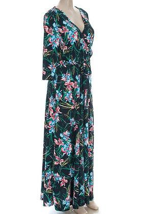 Floral Tropics Maxi Dress Plus