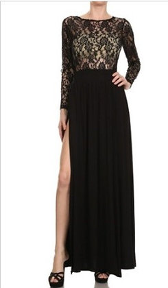 Lace Appeal Long Dress