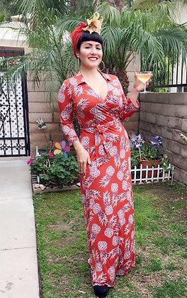 Riviera Pineapple Princess Dress