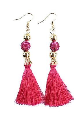 Sequin Fringe Earrings