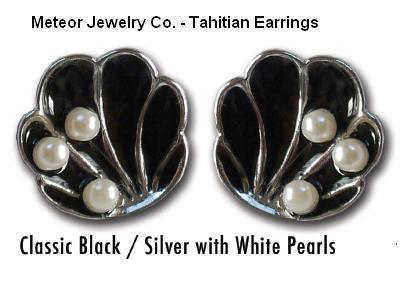 The Tahitian earrings