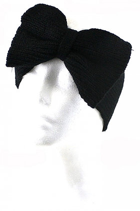 Bow Accent Knit Headwrap