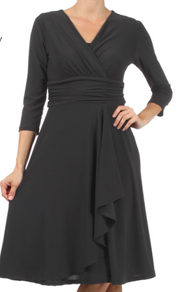 Riviera Black Dress