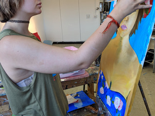 River Bend Salutes Kaitlyn Hamilton, Plymouth State Art Education Student