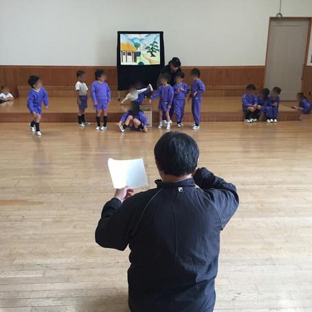 【30年度 戸ケ崎幼稚園表現指導①】