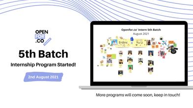 Internship Program Activities - 5th Batch