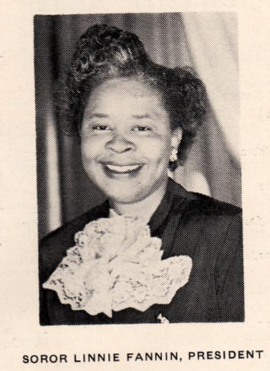 8th Linnie Fannin 1952-1956