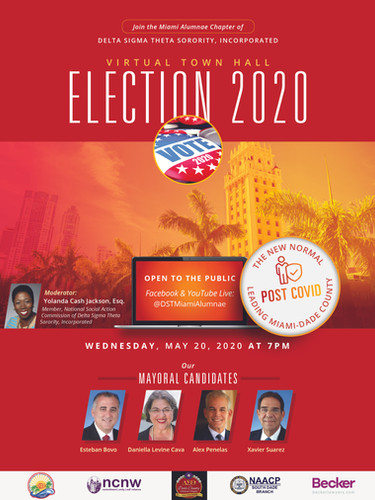 Mayoral Forum 2020 MAC DST