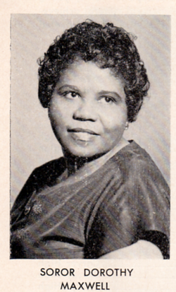 7th  Dorothy Maxwell 1950-1952