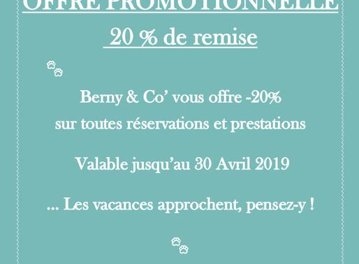 Berny & Co' à envie de vous faire plaisir  💕20% de remise, profitez-en !