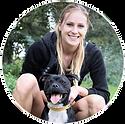 Victoria et son chien Magnum, Staffie de 2 anstémoigne de leur très bonne expérience auprès du service de garde d'animaux à domicile : Berny & Co' basé das la région d'Avignon