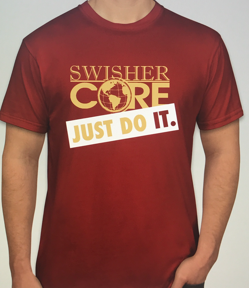 custom graphic designed tshirt for Swisher Core