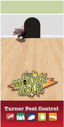 custom cornhole game for Turner Pest Control