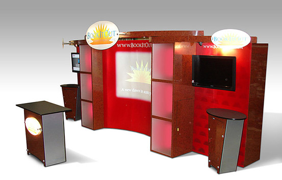 Book it out '20 tradeshow exhibit