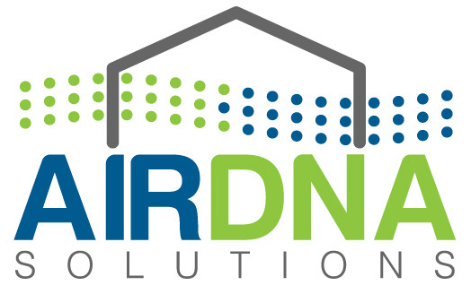 Custom logo design for AirDNA Solutions